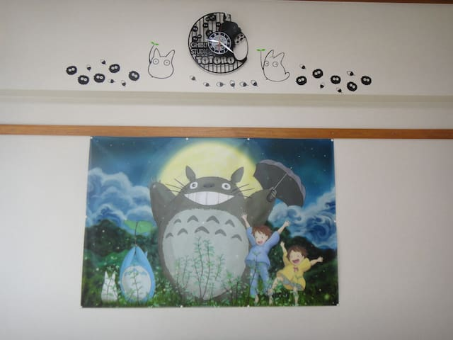 TOTORO ROOM in Near University of the Ryukyus