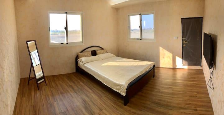 三合院渡假 鹿港 雙人房 全新裝潢 Room E