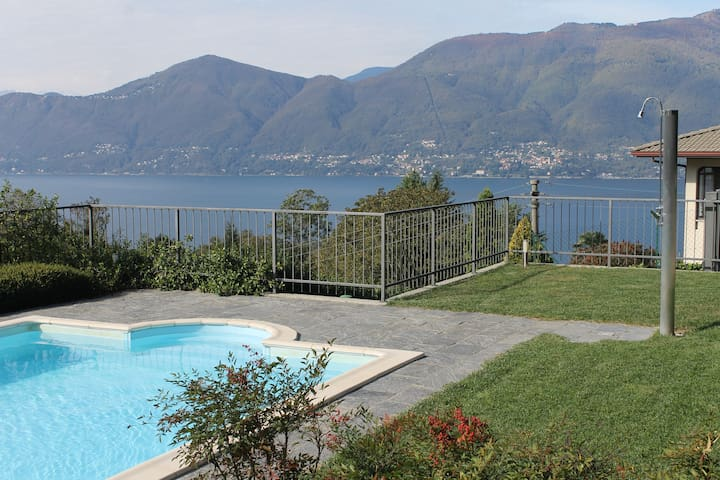 Italian Lakes 1 bedroom apartment with pool - Bedero - Apartmen