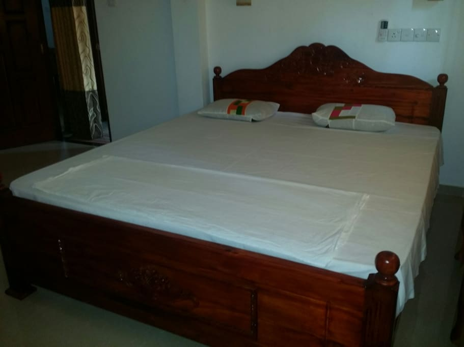 Double room with king size beds