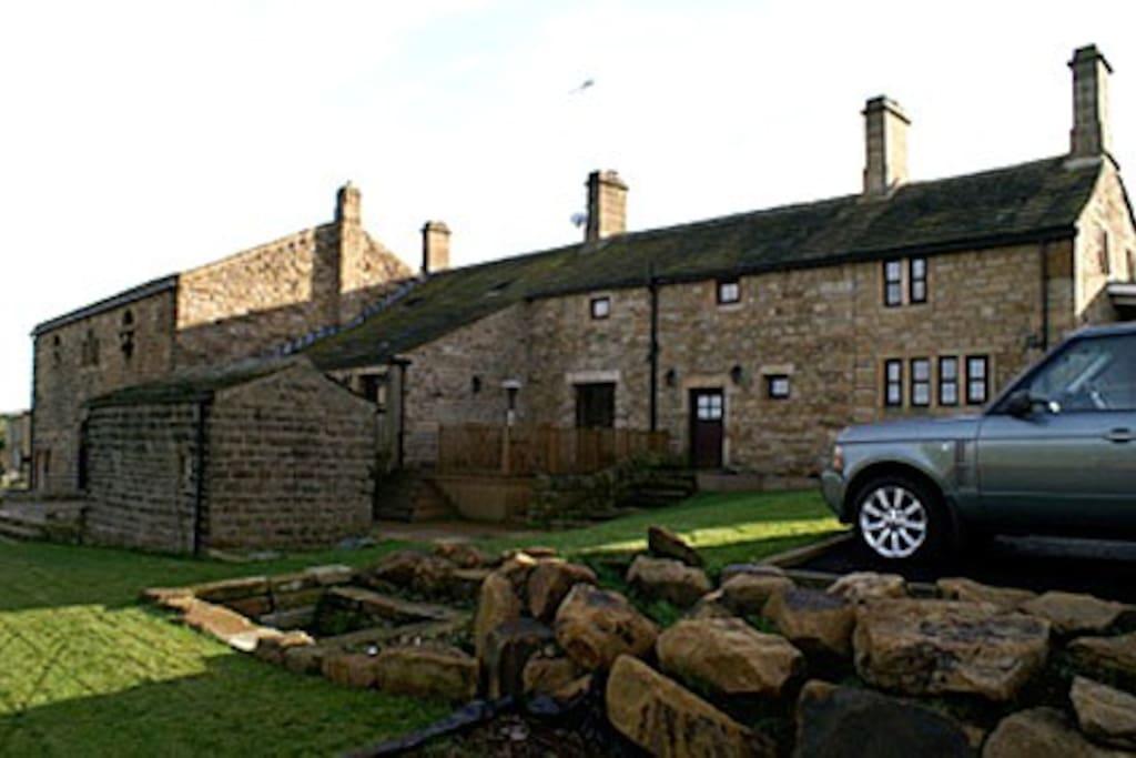 The farmhouse + cottage