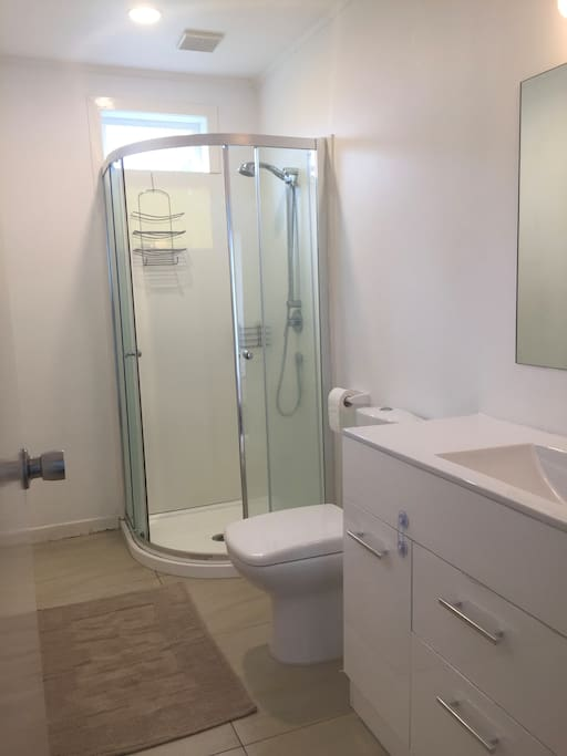 Shared bathroom (if other guests around)