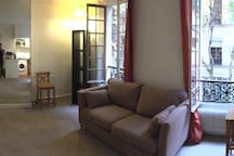 Cosy and Big studio rue Cler
