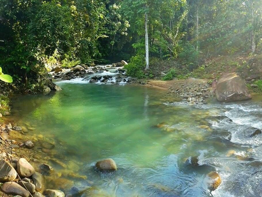 Natural Smooth River