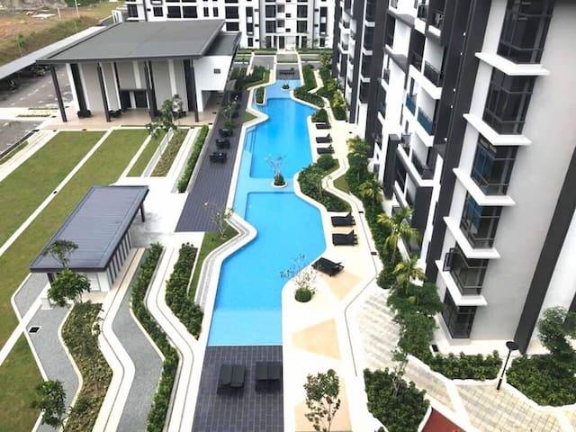 JW Home名宿 @ Greenfield Residence Kota Kinabalu