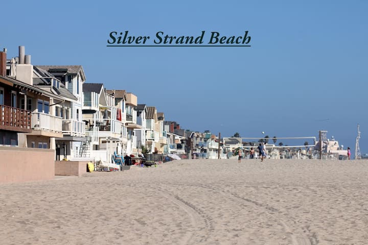 1 Block to Silver Strand Beach and the Harbor - Oxnard - House