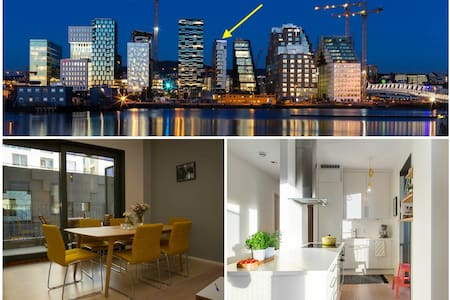 5min walk from Central station - Modern apartment - Oslo - Huoneisto