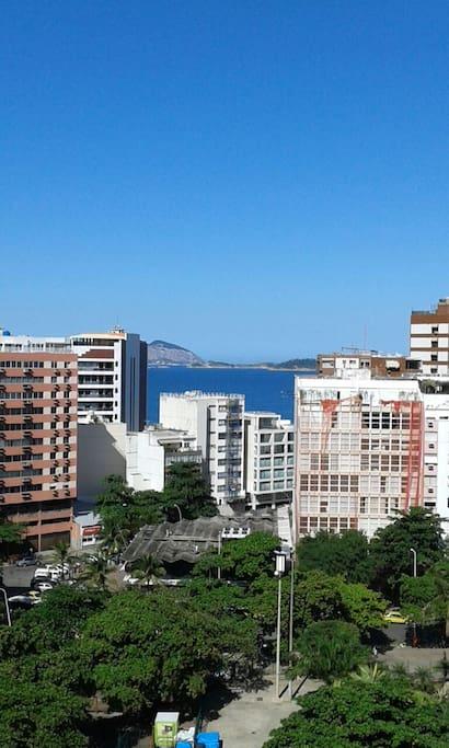 Vista para o mar de Ipanema