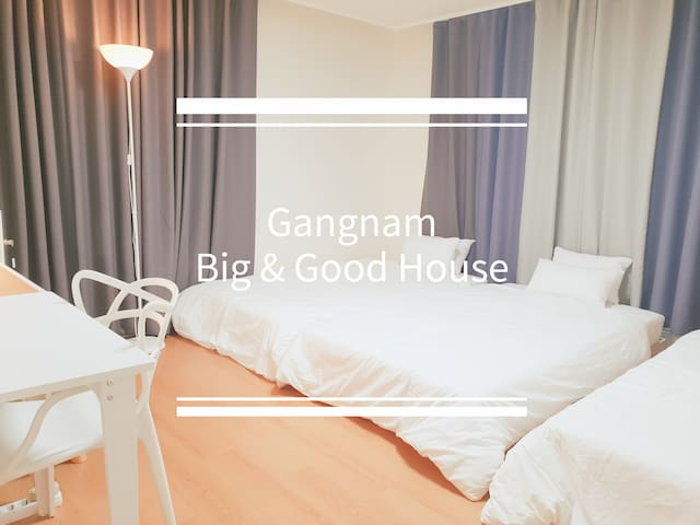 SALE> Gangnam Big & Good House Twin Bedroom