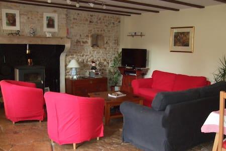 Farmhouse + pool + spa + garden - Mairé-Levescault - House - 2