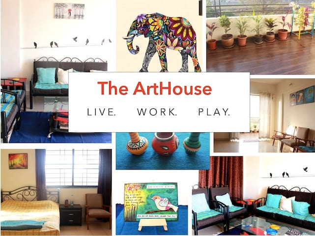 ARTHOUSE IN THE HEART OF THE CITY - Pune