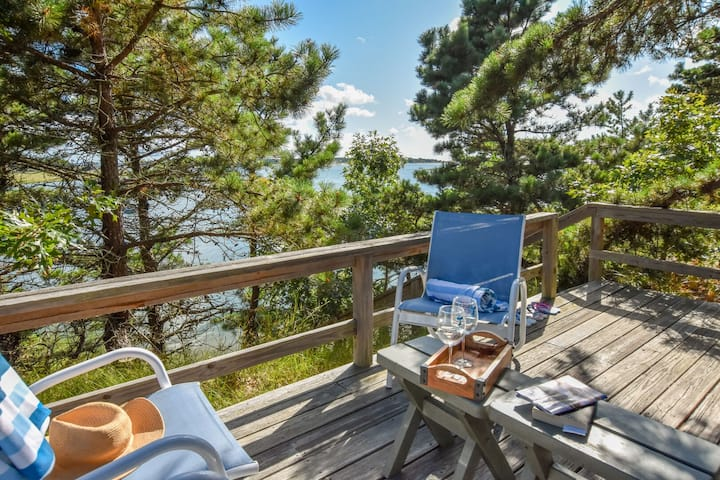 #329: Waterfront with stunning views of Blackfish Creek & private cottage!