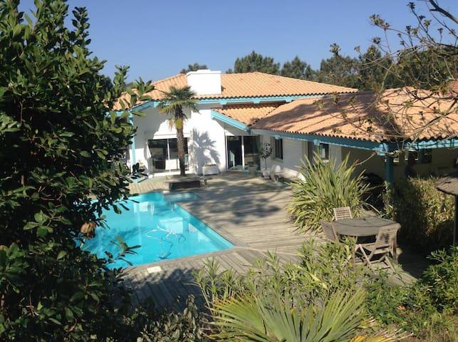 Villa de charme Cap Ferret 4 chambres + piscine