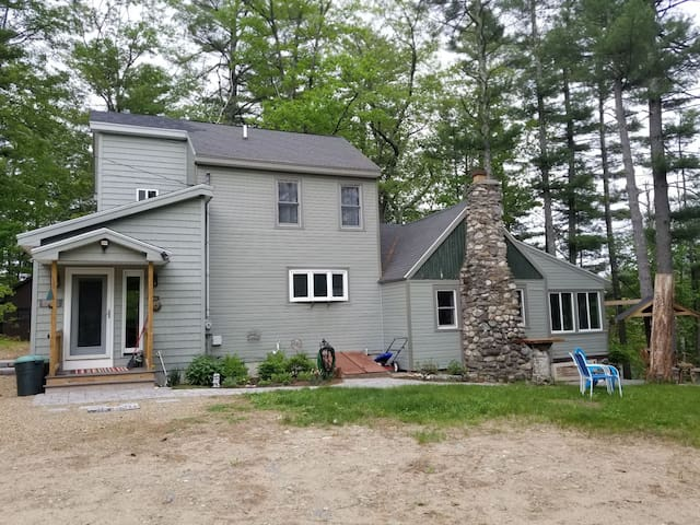 Top of lake house