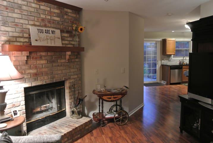 Fireplace & Bar Cart