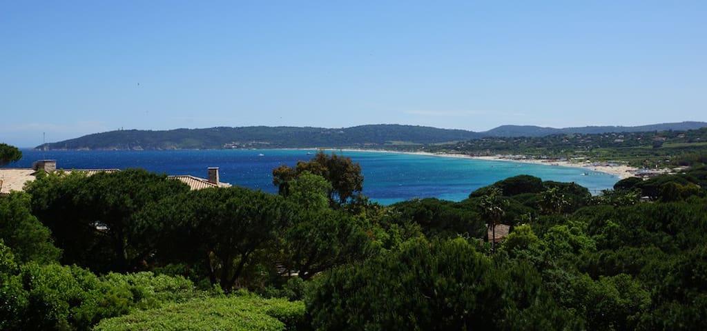 Maison Golfe de St Tropez au calme dans résidence