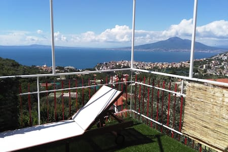 A Quite Place In Sorrento Coast - Vico Equense - Flat