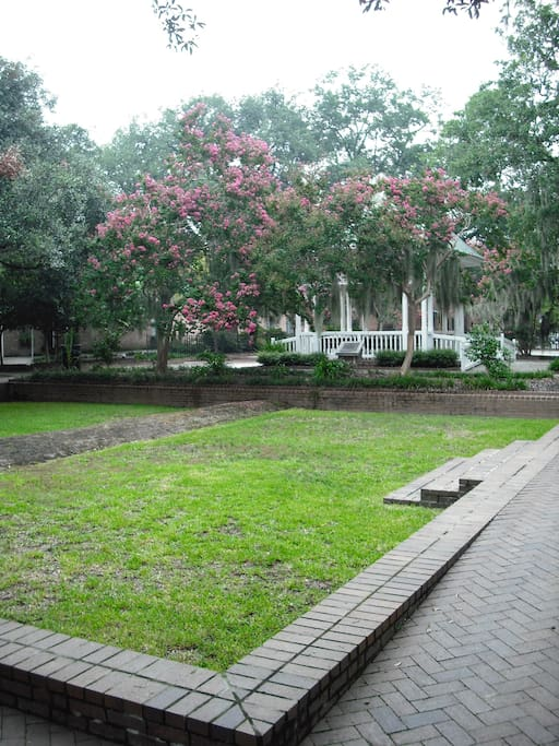 Relax in historic Crawford Square--just steps from the home
