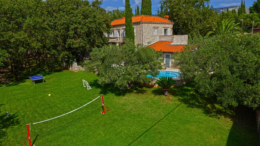 Villa Tereza, luxury house with private pool - Čilipi - Huis
