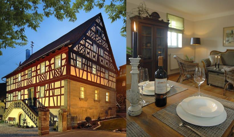 Haus Christiansn - Erholung in den Haßbergen - Aidhausen - Apartment