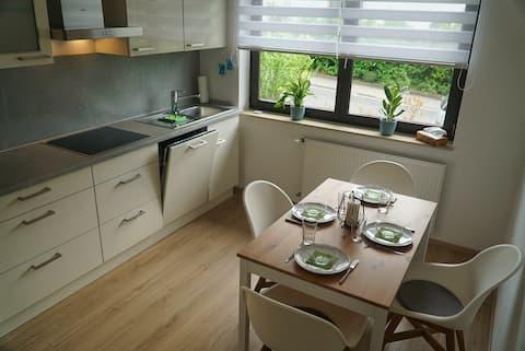 Moderne, voll ausgestattete Wohnung - Weinbergnähe