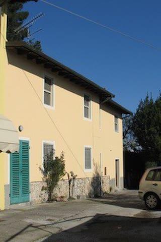 rustic style house in Lucca