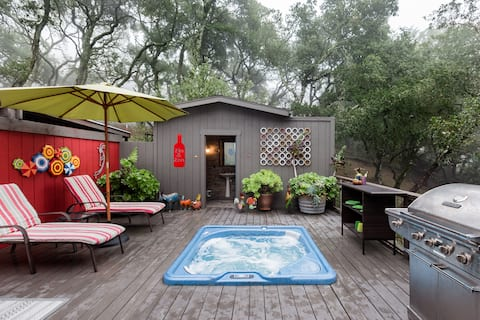 Rejuvenate in the Zen Bath at a House on Taylor Mountain