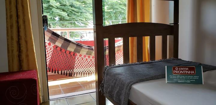 Quarto compartilhado + Wi-Fi - Galo Hostel