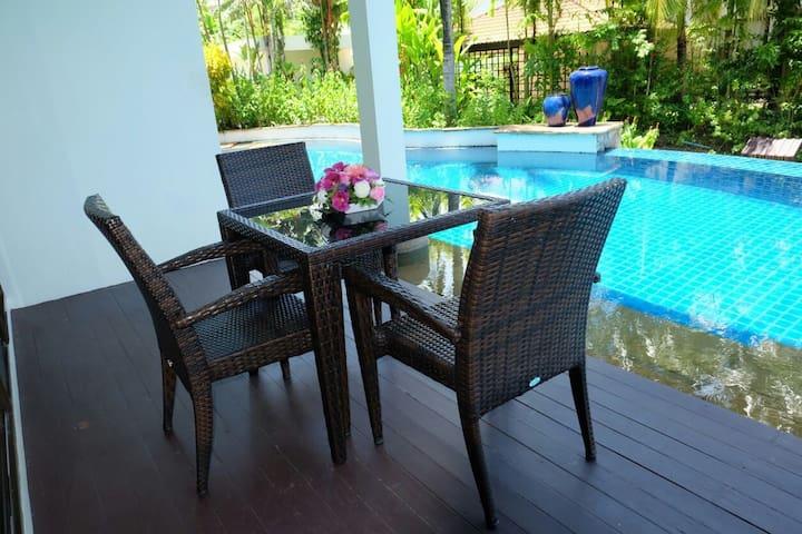 2 Bed Apartment walking distance to beach in Surin - Phuket - Huoneisto
