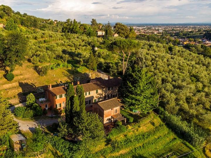 Casa Diletta, entre Lucca et Florence
