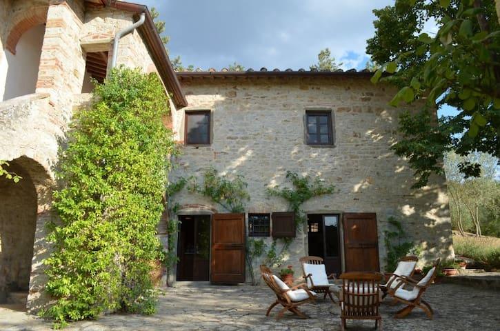 Farmhouse in Chianti hills w/ pool