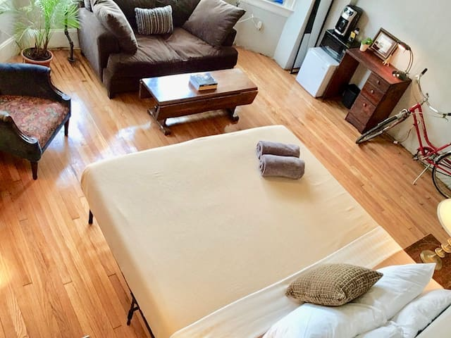 Spacious Room with all Amenities you need!