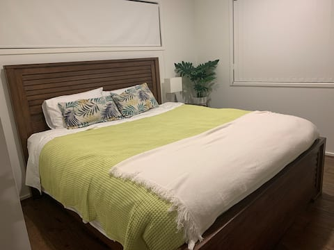 Homey, secure and comfortable room to stay.