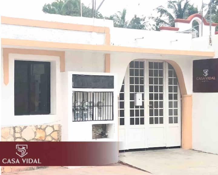 CASA VIDAL® DOWNTOWN Apartment 3: WiFi+A/C+TV+2`🛏