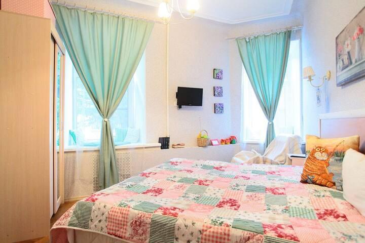 Уютная комната в центре Петербурга