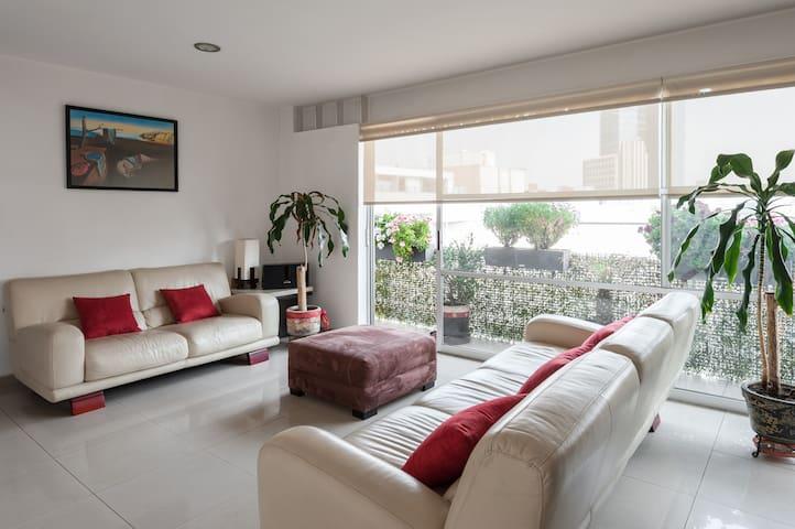 Bright 2BR Apartment | Balcony | Best Location WTC