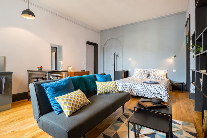 STUDIO FRANKLIN, in the Heart of Lyon ! - Lyon - Apartmen