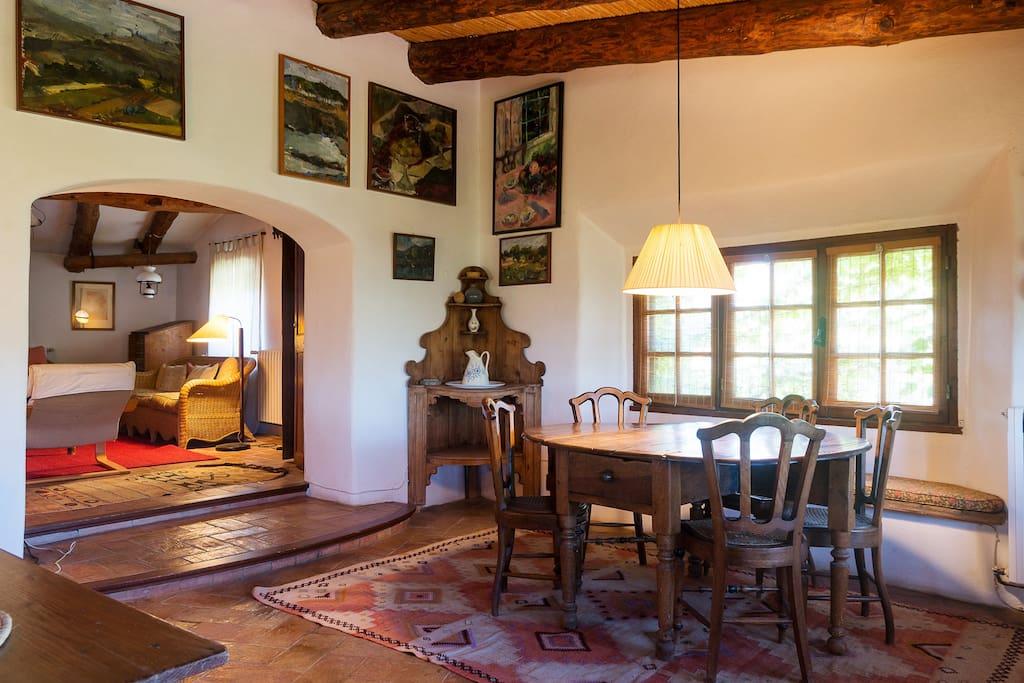 Gran casa familiar en ampurd n cottages for rent in for Farm house torrent