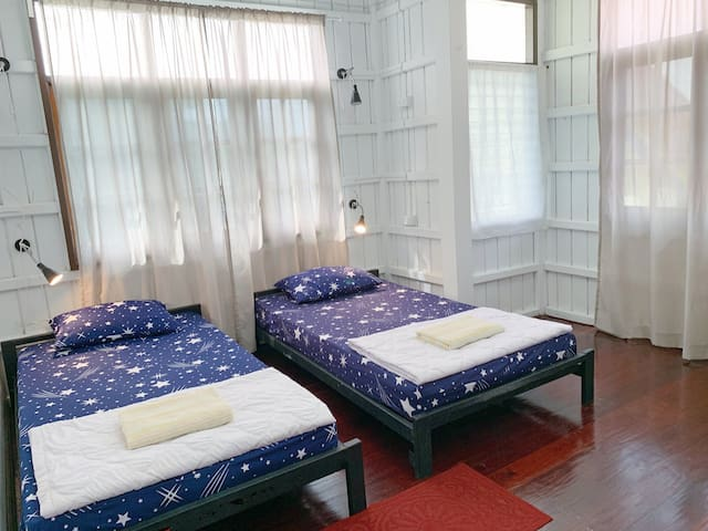 Twin Room 5 @Slowtree Ayutthaya