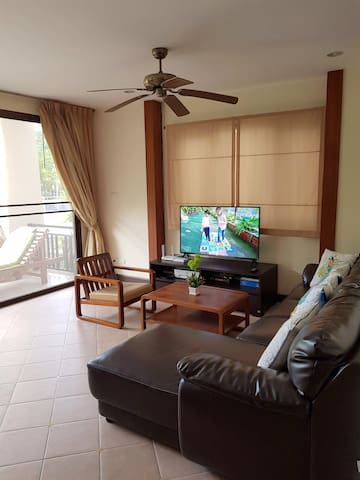 Sunrise Beach Na Jomtien, 86sqm, 2 bed, near beach