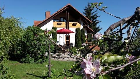 Rekreačný byt v záhrade vo vinohradníckej obci Britzingen