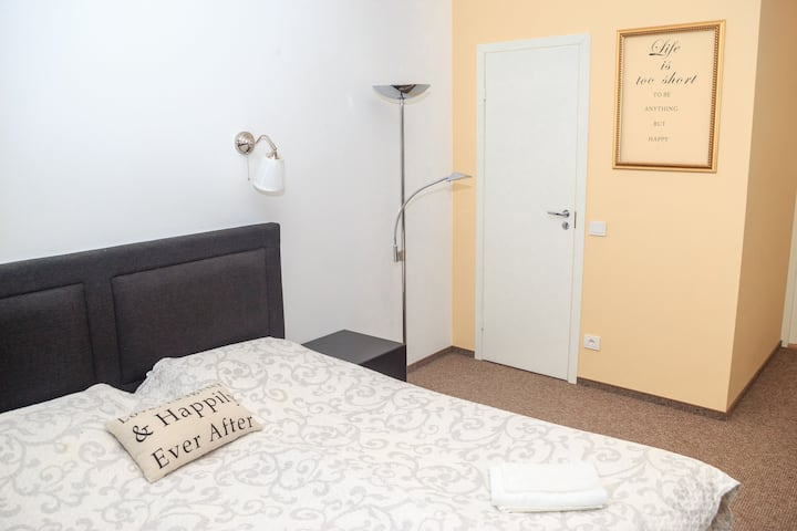 Spacious Double room with balcony