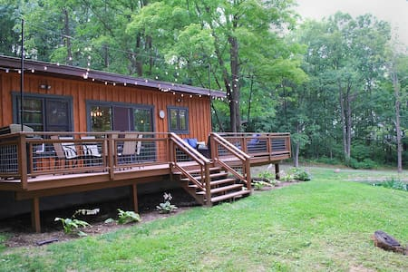 Chickadee Cabin: A Peaceful Finger Lakes Retreat