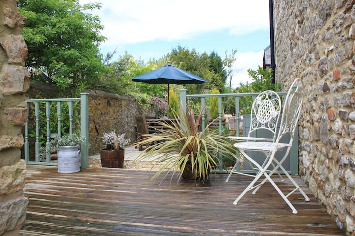 Decking and terrace