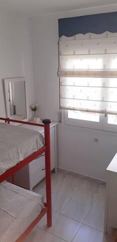 Renewed second bedroom (Summer 2019)