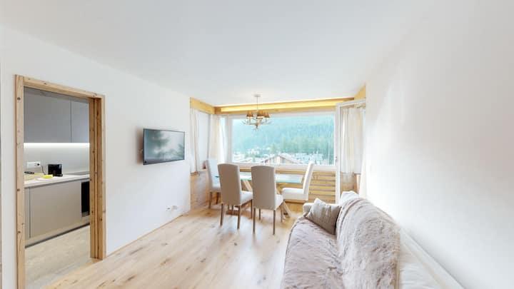 """Bilocale nuovo St. Moritz """"chesa Arlas"""""""