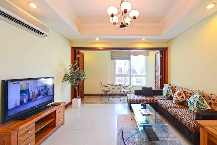 2bedroom apartment with rooftop pool in HCMC