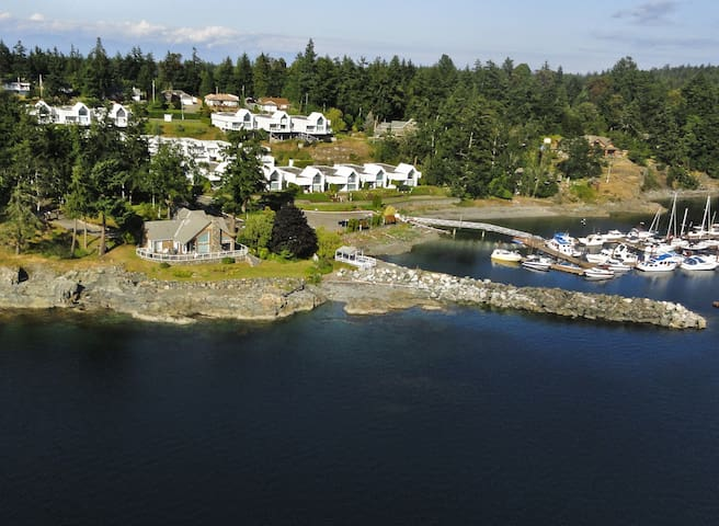 Luxurious oceanfront home with panoramic views - Nanoose Bay - Casa
