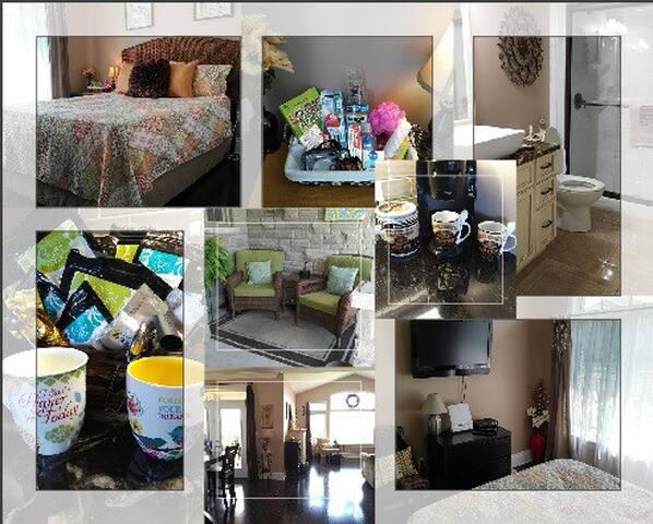 Beautiful new home, Deck for 2, near 1000 Islands - Kingston - Casa