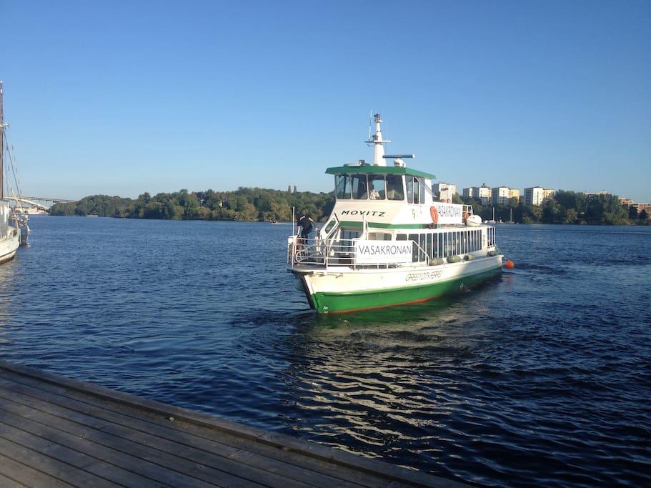 Ta båten till Söderhöjder